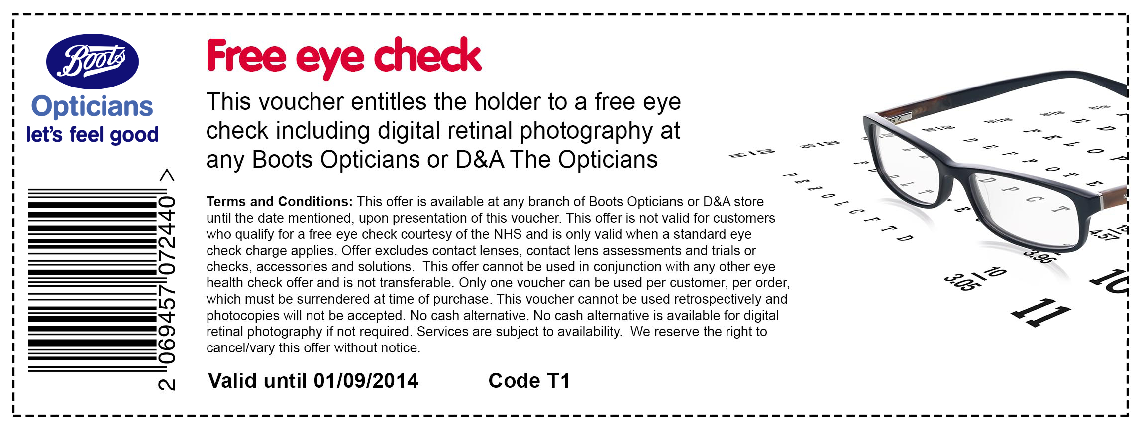 a9eec6dd7c9 ... eye free voucher test codes opticians boots new Boots Boots.260 Boots.  ...